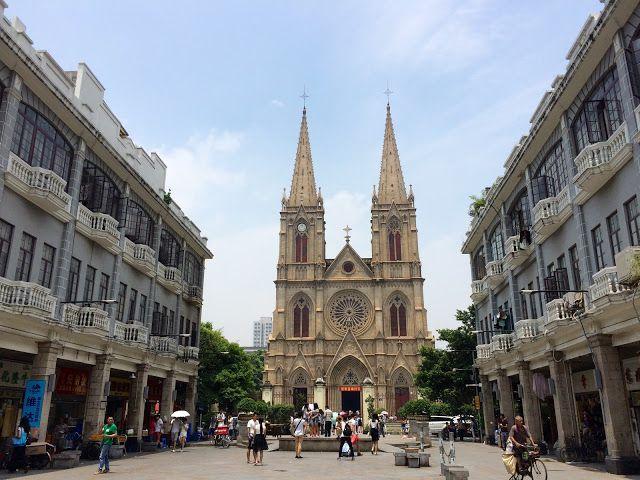 堅。離地城: 【廣州旅行】百年歷史 石室聖心大教堂