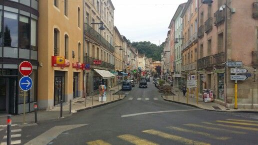Bedarieux town in South of France
