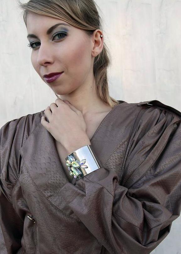 Vintage dress '80 #vintage #dress #'80 #sukienka #pyton #skóra #oldschool