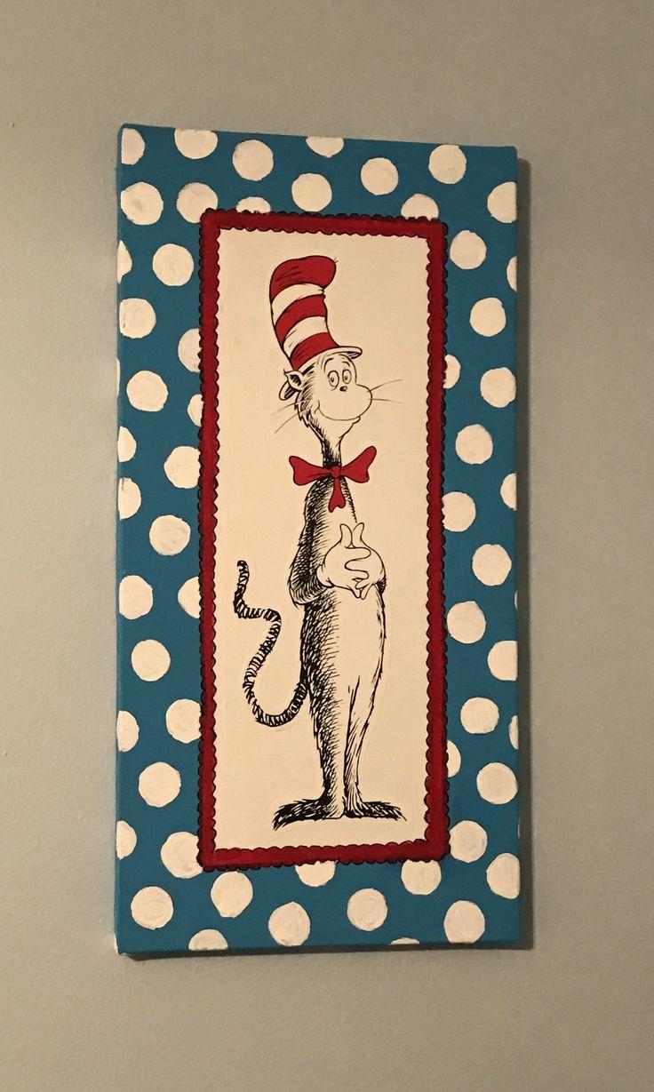 Fancy Dr Seuss Canvas Wall Art Adornment - The Wall Art Decorations ...