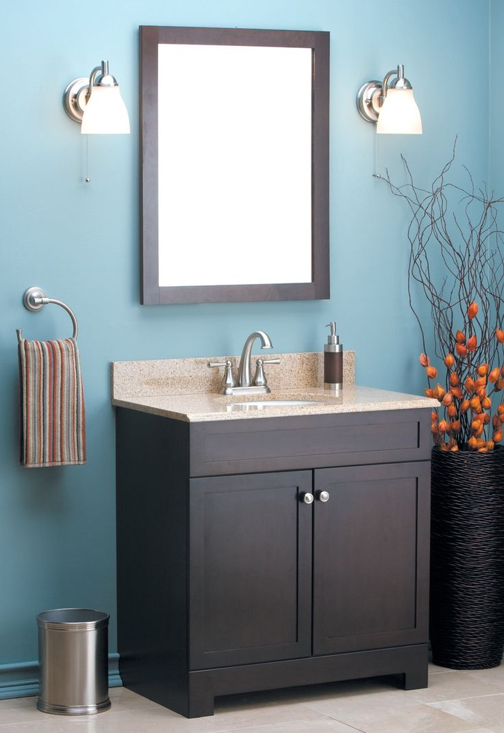 Espresso Bathroom Vanity Paint Colors