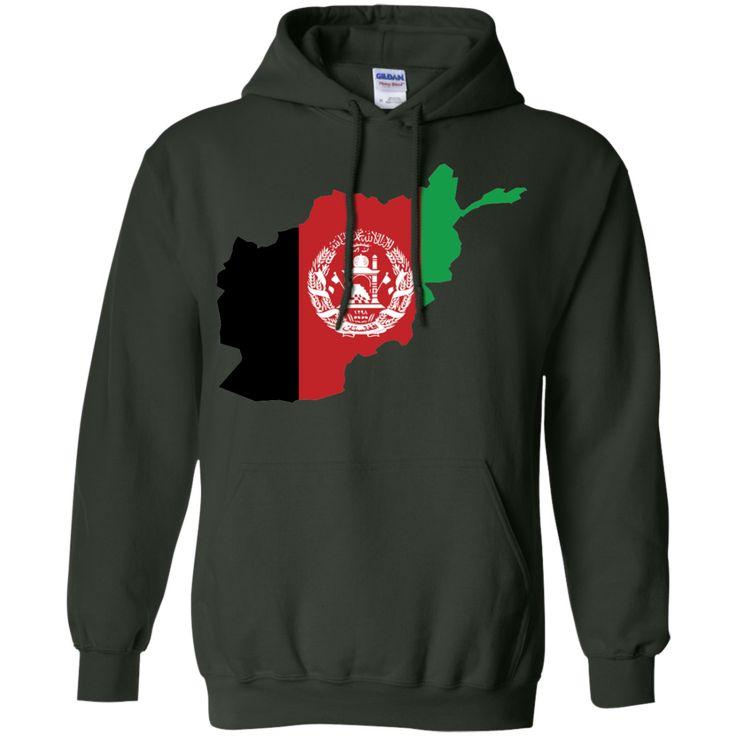 afghanistan flag -01 Pullover Hoodie 8 oz