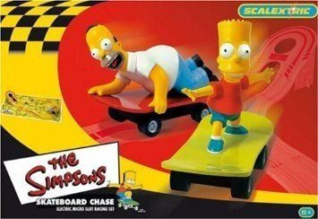 Micro Scalextric G1017 The Simpsons 1:64 Scale Race Sets @ niftywarehouse.com #NiftyWarehouse #TV #Shows #TheSimpsons #Simpsons