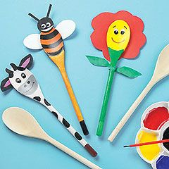 yellowmoon Wooden Spoon Pals Creative Toy - review, compare prices, buy online