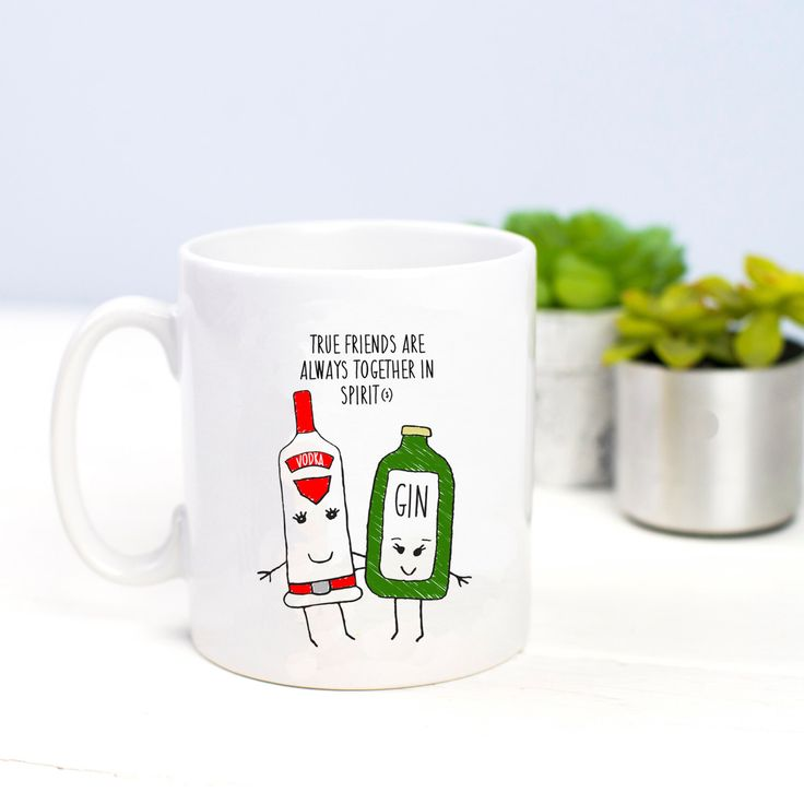 Friendship Mug, Gin, Vodka, Mug, Best Friend Gift, Funny Mug, Gin Mug , Gin & Tonic, Gin Gift, Friendship Quote, Friends, Quote, Friend Gift by oflifeandlemons on Etsy https://www.etsy.com/listing/270444784/friendship-mug-gin-vodka-mug-best-friend