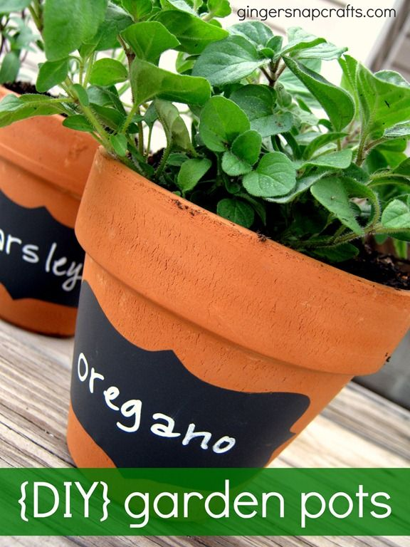 garden pots with planted herbs or flowers...  a.  lil' herb garden  b.  centerpiece for table setting  c.  gift for school teacher...add some paint, decorations, a flower pic...  Possibilities are endless with this one :-)