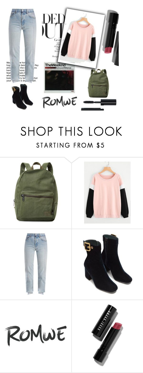 """""""Fashion"""" by ruzica-713 ❤ liked on Polyvore featuring Jagger, Herschel Supply Co., Vetements and Bobbi Brown Cosmetics"""