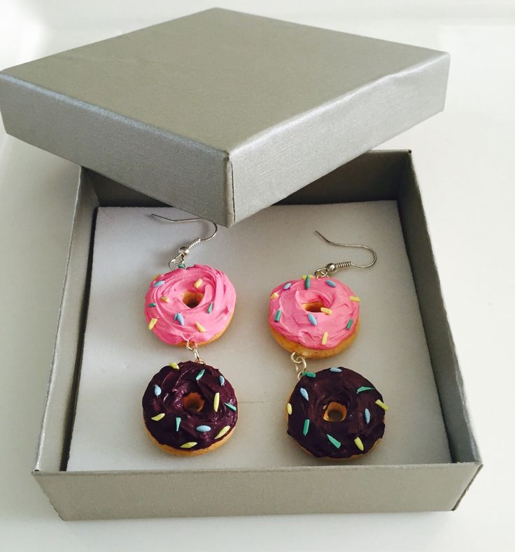 A personal favorite from my Etsy shop https://www.etsy.com/listing/265537810/handmade-polymer-clay-sprinkle-donut