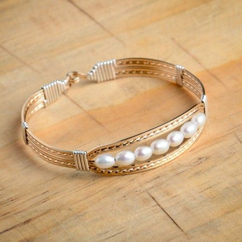 Ronaldo Praise Bracelet with Pearls