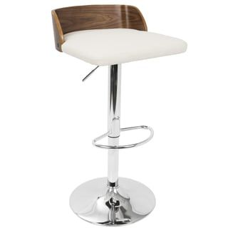 Shop for Carson Carrington Marstrand Walnut Wood and Chrome Mid-century Modern Adjustable Barstool. Get free shipping at Overstock.com - Your Online Furniture Outlet Store! Get 5% in rewards with Club O! - 20757485