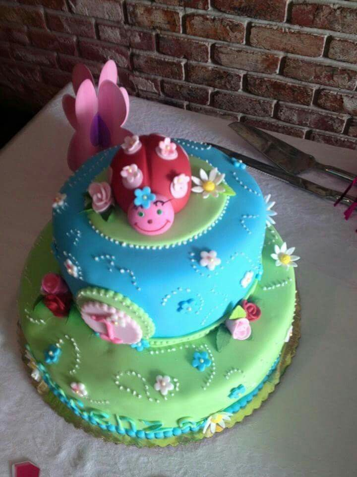 Ladie Bug Cake