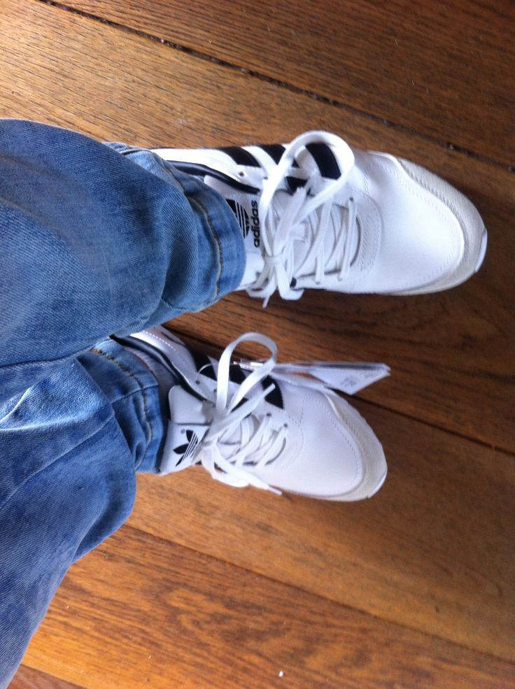 Love the sneakers Adidas