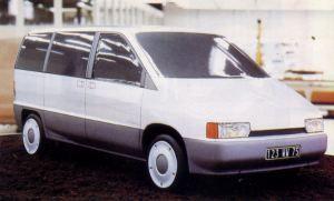 OG | 1994 Peugeot 806 / Citroën Evasion (Project U) | 1987 scale model