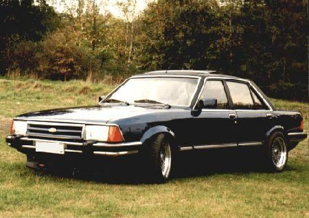 Ford Granada 2.8i Sport..great car but wheel bearing stripped out at about 70mph