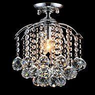 MAX60W+Uppoasennus+,++Moderni+/+Traditionaalinen/klassinen+/+Tiffany+/+Saarikeittiö+Kromi+Ominaisuus+for+Kristalli+/+LED+/+suunnittelijat+–+EUR+€+116.41