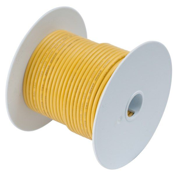 Ancor Yellow 2 0 Awg Tinned Copper Battery Cable 50 117905 Tin Electrical Tools Wire Spool