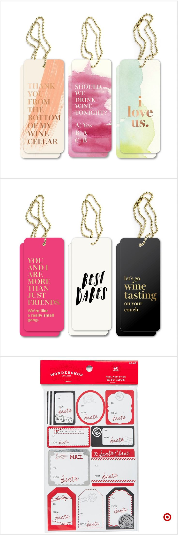 Shop Target for gift tag set you will love at great low prices. Free shipping on orders of $35+ or free same-day pick-up in store.
