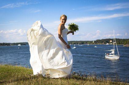 Foto: Jessica Björkwall, Vaxholms Kastell  #bröllop #wedding #sweden #vaxholm #archipelago