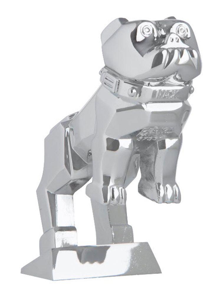 Mack Bulldog Medium Chrome OEM Hood Ornament - Mack Truck Hood Ornament - Mack Truck Hood Ornaments