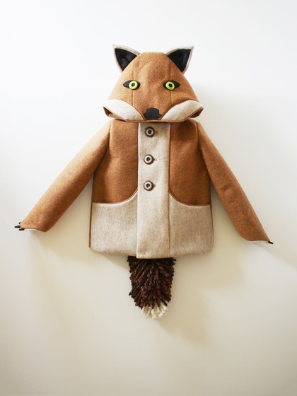 Little Goodall Fantastic Little Fox Coat. If I had mad sewing skills then I would make this for my son... and maybe myself. One day!