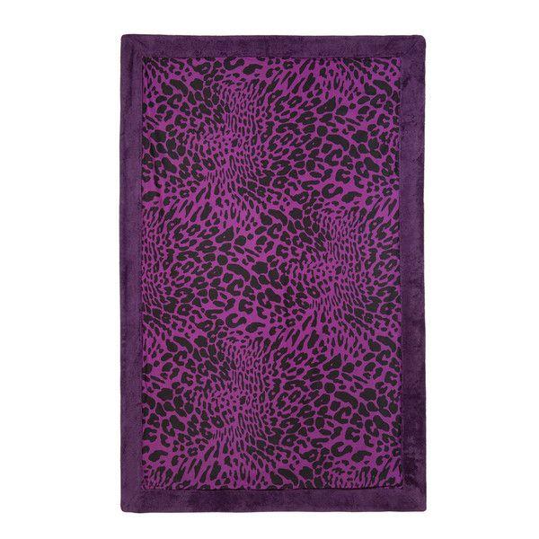 Sea Leopard - Purple Towel