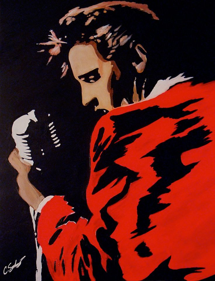 Elvis Presley by dx.deviantart.com on @deviantART