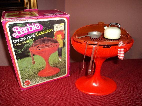 barbie bbq grill