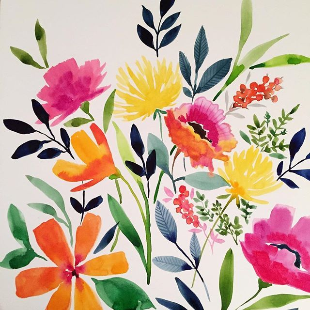 watercolor by Petal and Light