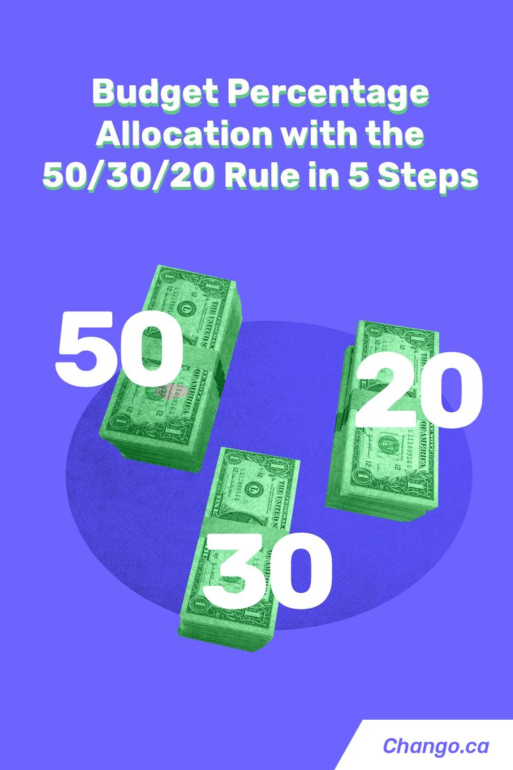 50 30 20 Budget Rule Percentage Allocation Tips in 2020