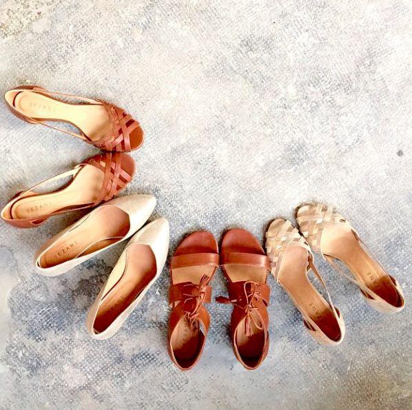 Sézane / Morgane Sézalory - Preview collection printemps - Marseille - www.sezane.com #sezane #spring #directionmarseille #shoes