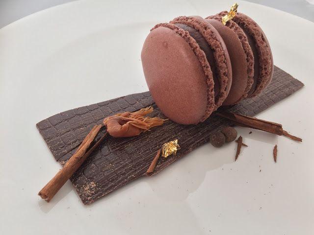 I Dolci di Pinella: Macarons speziati al cioccolato