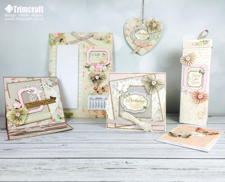 We are very excited to finally be able to tell you all about Dovecraft's new Floral Muse craft collection. With delicate designs, soft colour palettes and coordinating embellishments, it will capture your heart…