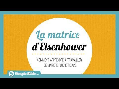 Gérez efficacement votre temps avec la matrice d'Eisenhower - Simple Slide