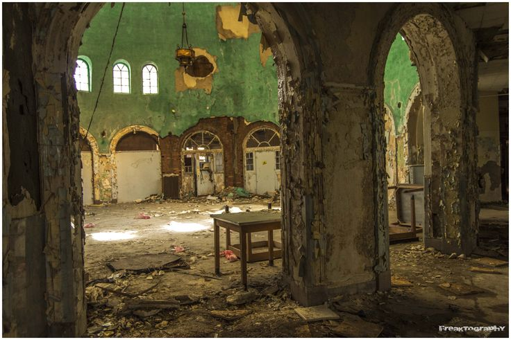 Inside Beautiful Abandoned Buildings | Green Dome ...