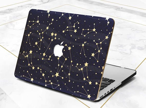 Macbook Case Space Macbook Air 11 Case Golden Macbook Case Etsy In 2020 Macbook Air 11 Case Macbook Case Macbook Air Case