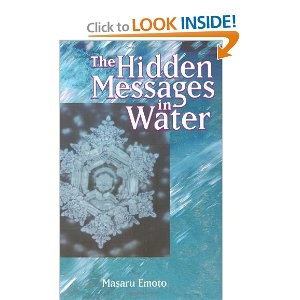 Excellent book describes the power of positive thinking has on water in a frozen state!