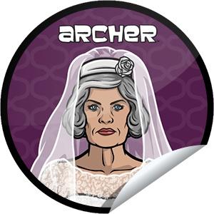 Archer Episode 9 Sticker | GetGlue