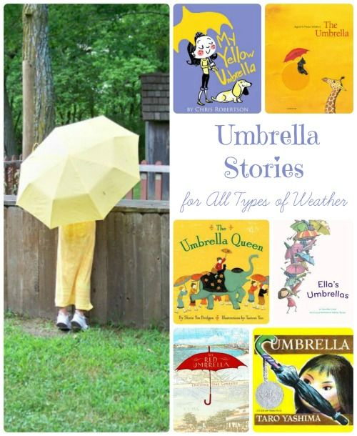 Fun books about umbrellas that will turn any rainy day into an amazing adventure! #kidlit