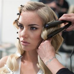 Cheat Finger Waves. Finally a practical use for those infernal straightening irons!