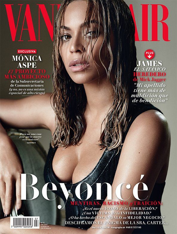 Beyoncé Covers Vanity Fair Mexico Magazine - July 2016