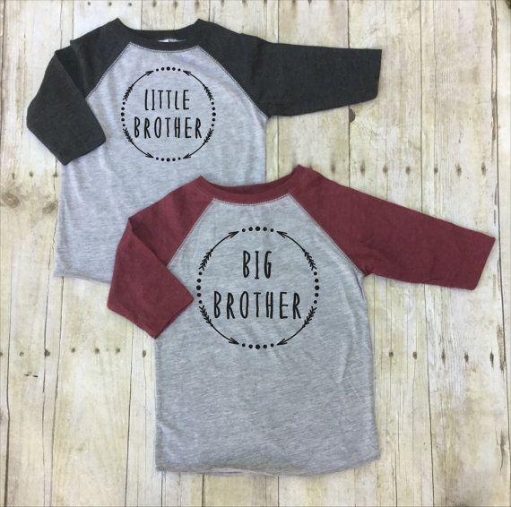 Großer Bruder wenig Bruder Shirts-große Bruder von TwistedLinen