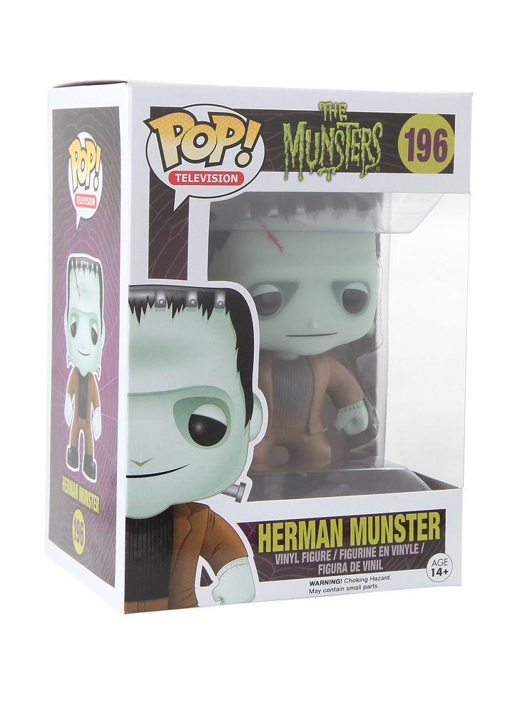 Monstrous fun with Herman! Munster Vinyl Figure   Hot Topic