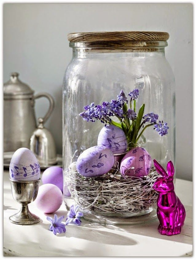 10 best images about easter on pinterest romantic for Easter home decorations pinterest