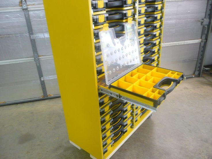 Part Storage For Garages : Best hardware storage images on pinterest