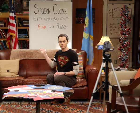 big bang theory fun with flags episode