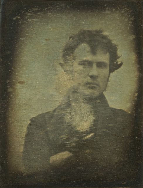 The First Photographic Portrait Image of a Human Ever Produced