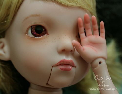 custom#1 | eyes (Blythe Eyechip) & teeth custom | Mi Jung GU | Flickr