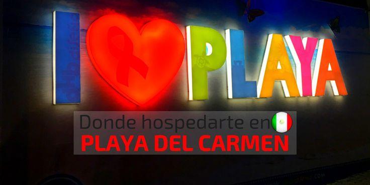 Los mejores hostales, apartamentos y hoteles en Playa del Carmen, México