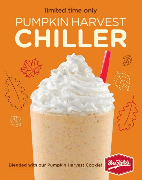 Be the first to to taste our #Pumpkin Harvest Chiller! Available in ...