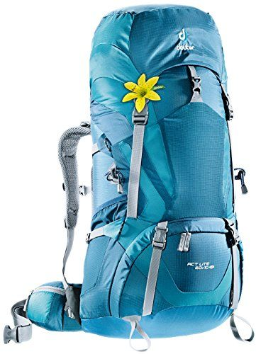 Deuter ACT Lite 60   10 SL - Ultralight Trekking Backpack, Arctic/Denim
